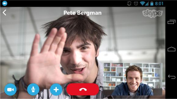 communicating via skype